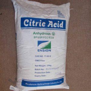 Acid Chanh   Acid Citric   C6H8O7