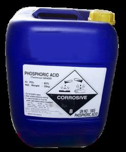 Axit Phosphoric 85%  Phosphoric Acid 85%  H3PO4