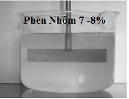 Dung dịch phèn nhôm 8% | Dung dịch Aluminium Sulfate 8%