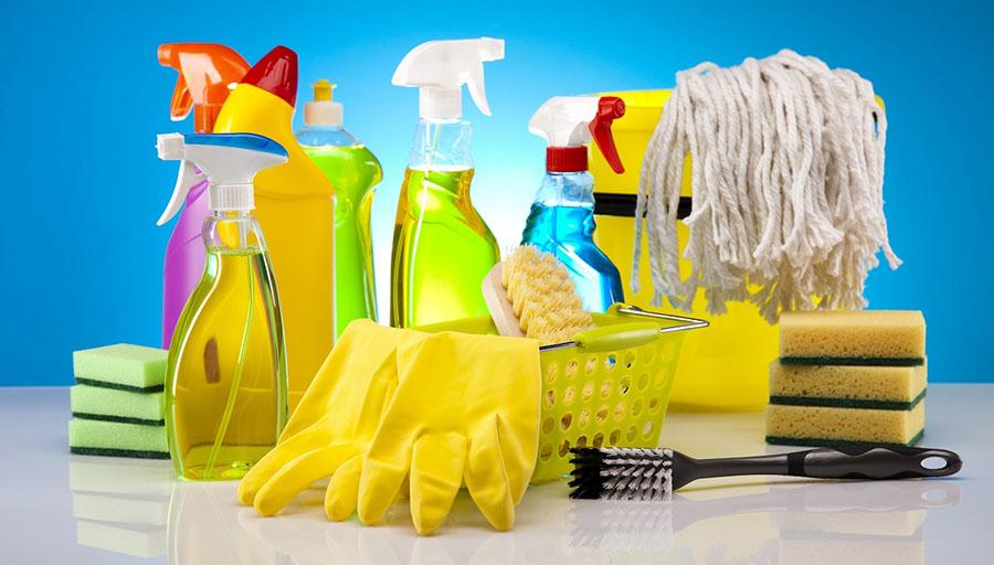 sản phẩm hóa chất tẩy rửa