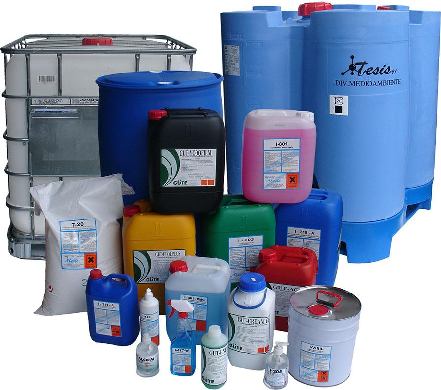 hóa chất tẩy rửa tổng hợp